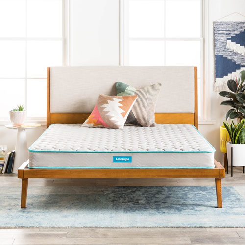 "LinenSpa 6"" Innerspring Mattress Twin"