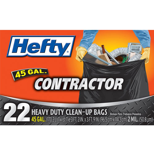 Hefty Contractor Heavy Duty Cleanup Bags