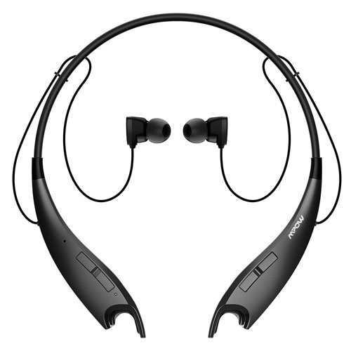 MPOWA Jaws V4.1 Bluetooth Headphones Wireless Neckband Headset