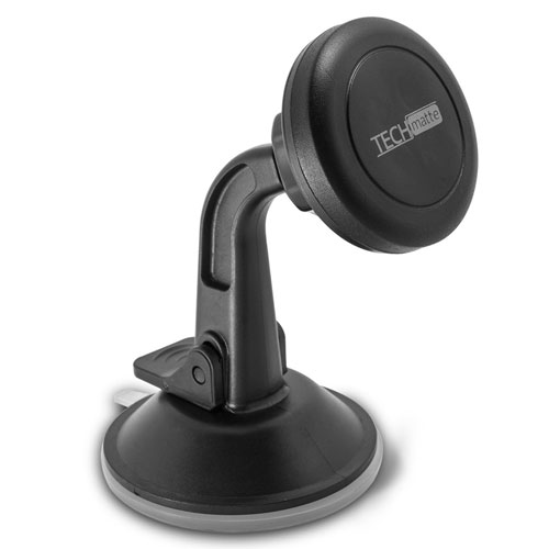 Dashboard Mount TechMatte MagGrip Dashboard and Windshield Magnetic Universal Car Mount Holder
