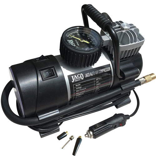 JACO RoadPro Tire Inflator Pump Portable Air Compressor