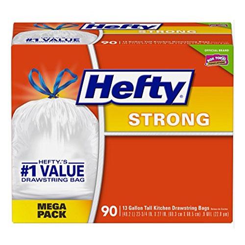 Hefty, Durable Trash Bags