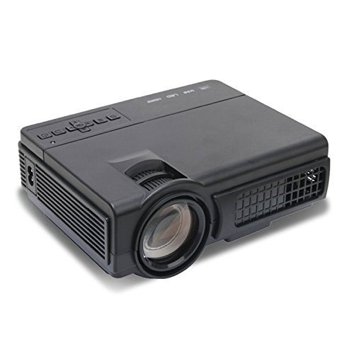 Mlison Video Projector 2000 Lumens Home Cinema Theater Multimedia Projector