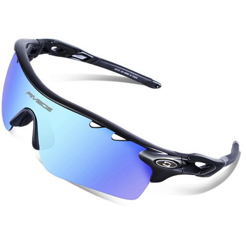 RIVBOS 801 Unisex Polarized Sports Sunglasses