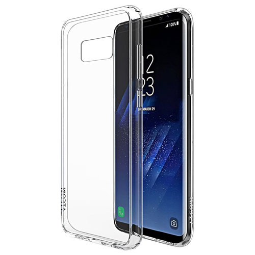 Galaxy S8 Plus Case, ATGOIN Crystal Clear Slim Flexible TPU Gel Rubber Soft Silicon Protective Case