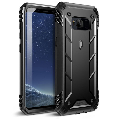 Galaxy S8 Plus Case, Poetic Revolution Rugged Case