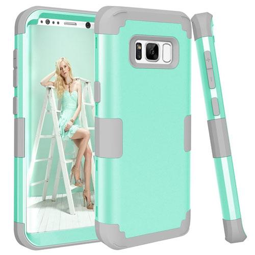 Galaxy S8 Case, KAMII 3-in-1