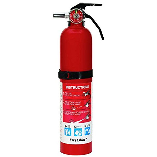 4. First, Alert 2.5-Pound Rechargeable Fire Extinguisher