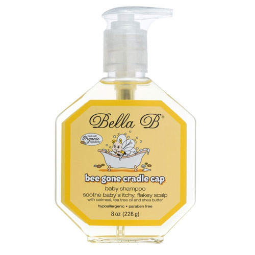 6 Bella B Bee Gone Cradle Cap Baby Shampoo 8 Oz
