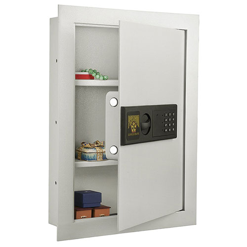 5. Paragon 7750 Electronic Wall Lock and Safe, .83 CF Hidden In Wall Large Safe