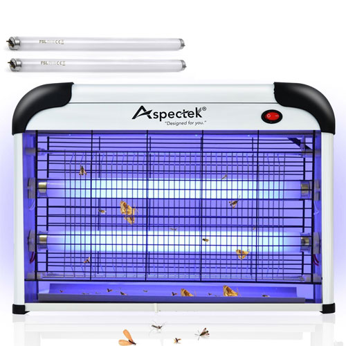 Aspectek 20W 6000sqft Coverage Electronic Bug Zapper