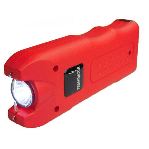8. Terminator SGTA - 980,000,000 Stun Gun - Super Powerful Bright Durable Flashlight Rechargeable Stun Gun