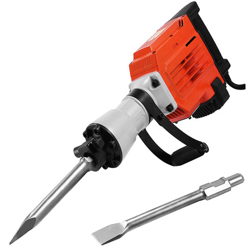 LOVSHARE 3600W Electric Demolition Hammer Heavy Duty Concrete Breaker