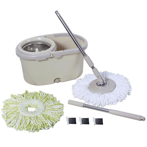 Senmo Smart 360 Swivel Spin Mop, Stainless Steel Spin Mop