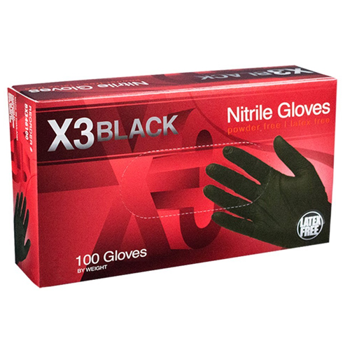 10. AMMEX - BX342100-BX - Nitrile Gloves - Disposable, Powder Free, Latex Free