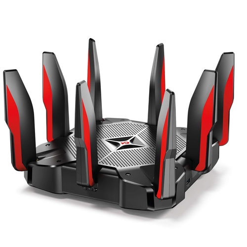 5. TP-Link AC5400 Tri-Band Gaming Router