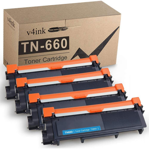 9. V4INK Compatible Toner Cartridge Replacement for Brother TN630 TN660 TN