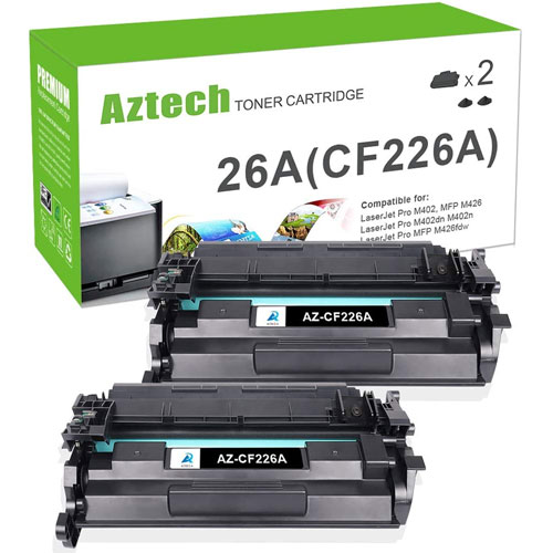 6. Aztech Compatible Toner Cartridge Replacement for HP 26A CF226A 26X CF226X