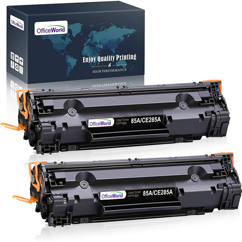 8. OfficeWorld Compatible Toner Cartridge Replacement for HP 85A CE285A 35A CB435A
