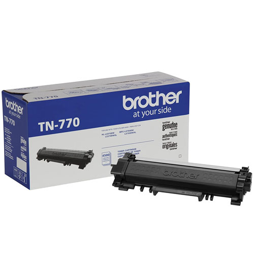 3. Brother TN-770 HL-L2370 MFC-L2750 Toner Cartridge (Black) in Retail Packaging