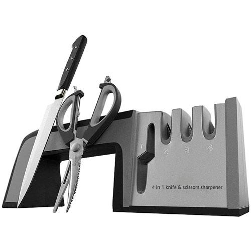 1. Professional Kitchen Knife & Scissor Sharpener